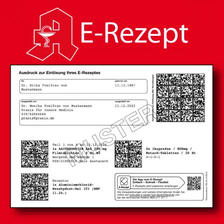 Muster E-Rezept